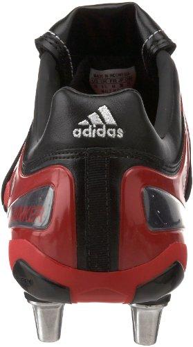 Venta en línea barata Adipure Ala De Rugby Zapato De Los Hombres De Adidas Negro / El Funcionamiento Blanco / Rojo Radiante Oficial a la venta Salida Mejor Venta al por mayor Liquidación bajo tarifa de envío rNAAjiLe4