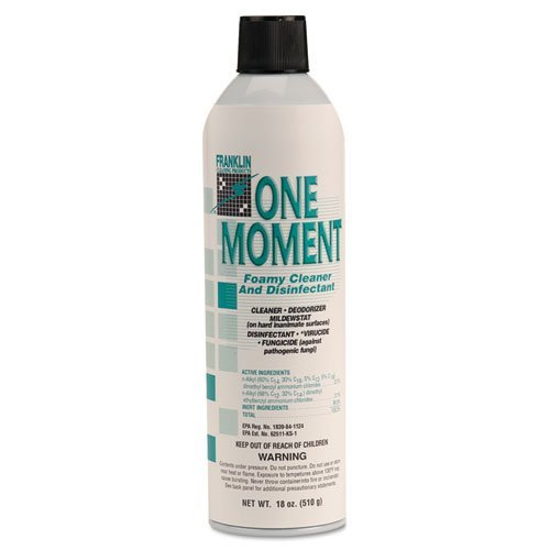 fklf803215 – Franklin One Moment Foamy Cleaner and Disinfectant B00CUL7NSO