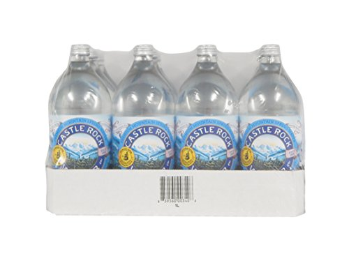 Castle Rock Water Natural Glacial Spring, 33.8 Fluid Ounce (Pack of 12)