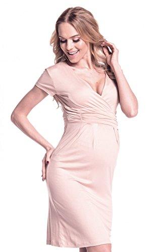 Happy Mama Damen Umstands Kleid Passt In Allen Phasen Der ...