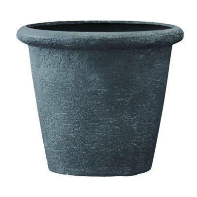 ビアス リムス グレー80cm (直径80×高さ69cm)[ポリストーンライト 鉢] ノーブランド品 B0792JP98F
