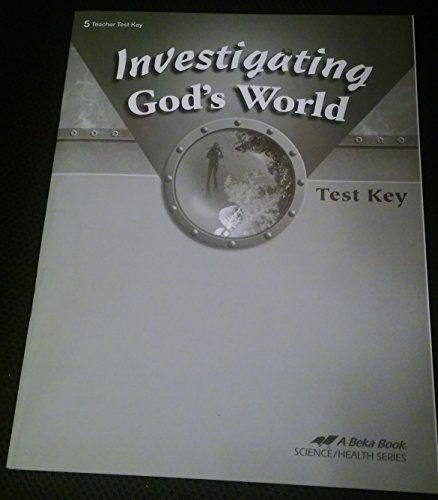 Investigating God's World Fourth Edition Student Edition for sale  Delivered anywhere in USA