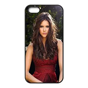 Nina Dobrev-010 For iphone 5 5s Cell Phone Case Black Protective Cover xin2jy-4341183