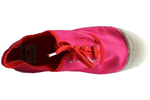 Basket rose Lacet A femme Bensimon CqwHB44