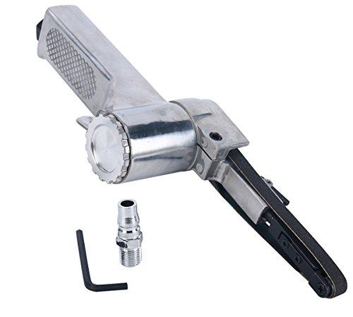 8MILELAKE 3/8″ Mini Air Belt Sander Grinder Tool