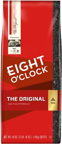 Eight O'Clock Ground Coffee, The Original, 42 Ounce (Packaging May Vary)