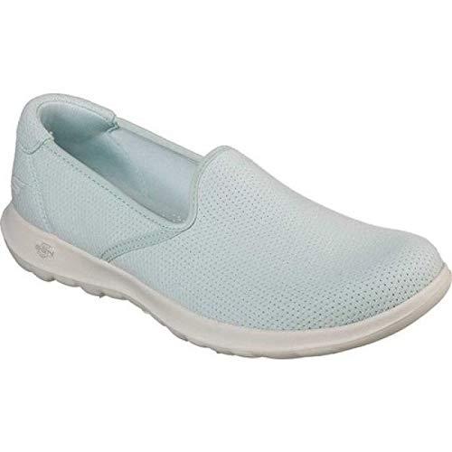 小麦粉めったに絶妙(スケッチャーズ) Skechers レディース ランニング?ウォーキング シューズ?靴 GOwalk Lite Heavenly Slip-On Walking Shoe [並行輸入品]