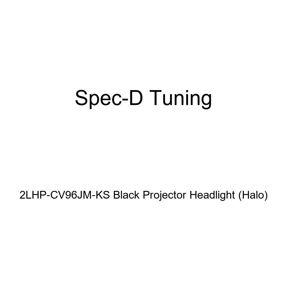 Halo Spec-D Tuning 2LHP-CV96JM-KS Black Projector Headlight