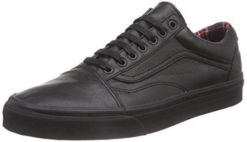 Furgonetas Unisex Vieja Skool Clásicas Zapatillas De Skate Negro / A Cuadros Outlet Browse Precio barato más barato GR5xp2NLf