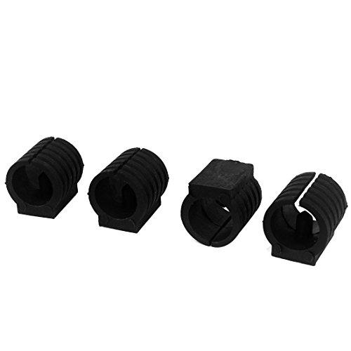 SourcingmapR Breuer Tuyau Patins Pour Pieds De Chaise En Forme Capsules Plastique 16