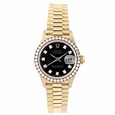 Rolex Datejust swiss-automatic womens Watch 69138 (Certified Pre-owned) by Rolex