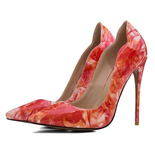 Au Travail Talons Des Pratique Yr Imprim F 12cm Chaussures Rencontres Hauts Piste Pumps Ladies Pour r La Symphony Sur Le Accentue 1qxvUqTwX