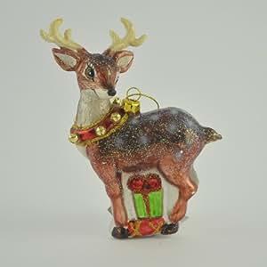 Gisela graham navidad cristal bambi reno bola decoraci n for Amazon decoracion navidad