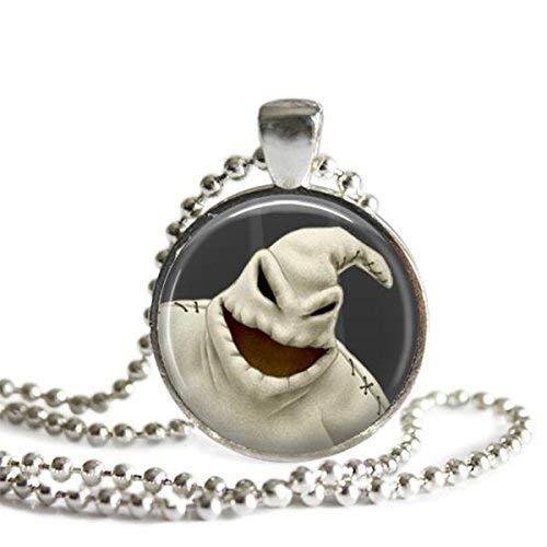 The Nightmare Before Christmas Oogie Boogie 1 Inch Picture Pendant Necklace or Keychain -