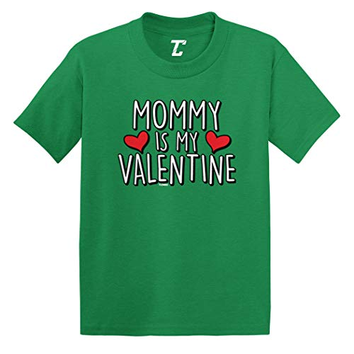 (Mommy is My Valentine - Cute Cupid Infant/Toddler Cotton Jersey T-Shirt (Kelly, 5T))