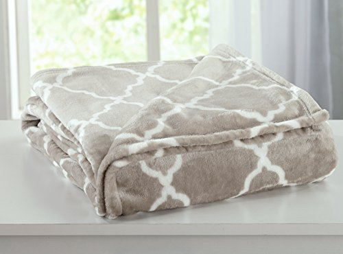 Ultra Velvet Plush All-Season Super Soft Luxury Bed Blanket