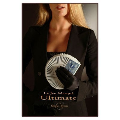 Ultimate Marked Deck (BLUE Back Bicycle Cards) - Trick by Magic Dream