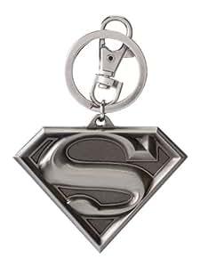 Amazon.com: Llavero de peltre con el logotipo de DC Superman ...