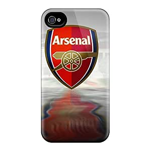 JohnPrimeauMaurice Iphone 4/4s Bumper Hard Cell-phone Case Customized High-definition The Famous Football Club Arsenal Skin [rCB2866yxoV]