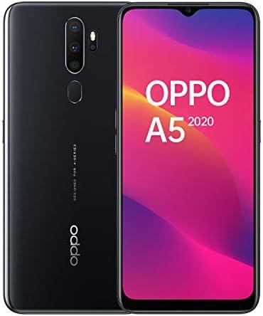 "OPPO A5 Smartphone , Display 6.5"" LCD, 4, Fotocamere,64GB Espandibili, RAM 3GB, Batteria 5000mAh, Dual Sim, 2019 [Versione italiana], Mirror black"