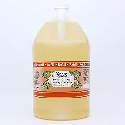 Vermont Soap Organics - Orange Foaming Hand Soap Gallon Refill