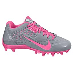 Nike Women\'s Speedlax 4 Stealth/Pink Flash 11.5 B - Medium