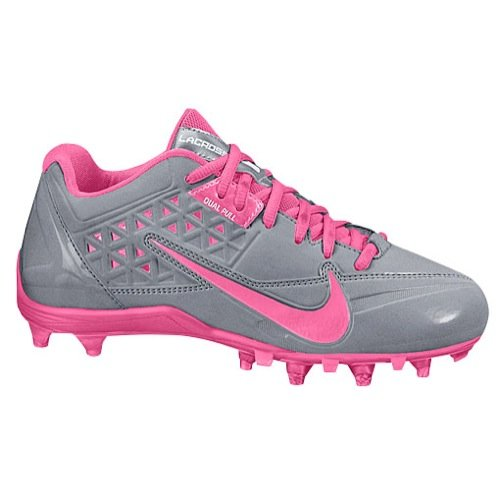 Nike Women's Speedlax 4 Stealth/Pink Flash 12 B - Medium