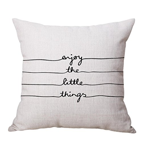 Throw Pillowcase, Yezijin Square Pillow Cover Cushion for sale  Delivered anywhere in USA