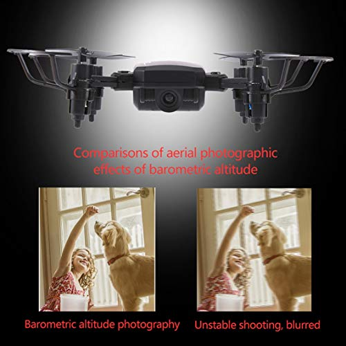 FancyswES8eety TXD G1 Mini RC Drone Plegable WiFi Altitude Hold ...