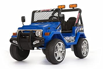 Buy Kids Ride On Carss618f Small Blue Jeep Wrangler Ride On Car For