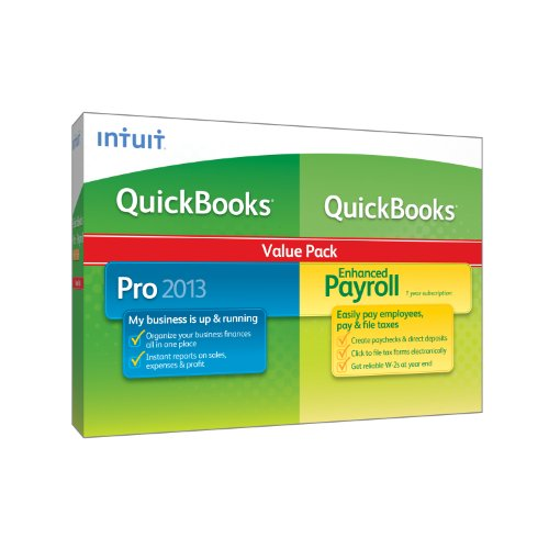 QuickBooks Enhanced Payroll 2013 VERSION