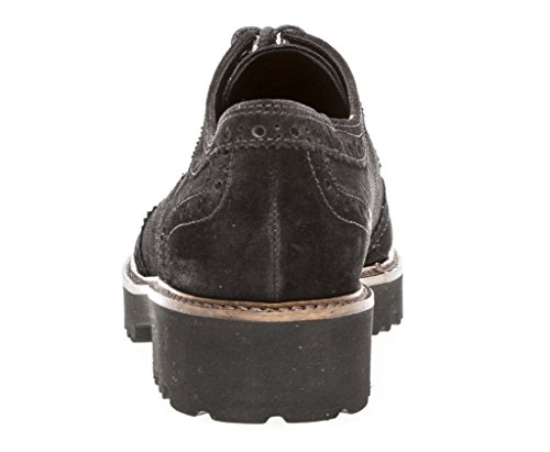 Chunky 464 Suede Sweep 91 Blk Gabor Up Lace SdvS1q