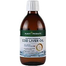 Cod Liver Oil - Dutch Harbor - Liquid 60 Servings