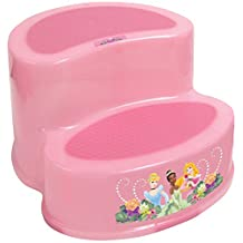 Disney Princess 2 Tier Step Stool, Pink