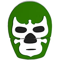 By Mexico USB modelo Máscara de Luchador Verde 8 GB