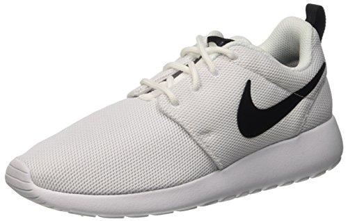 Nike Vrouwen Roshe Één Loopschoenen (5,5 B (m) Us) (wit / Wit / Zwart)
