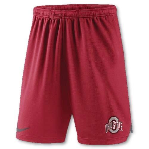 Nike Ohio State Buckeyes Dri-Fit Practice Performance Shorts (Small)