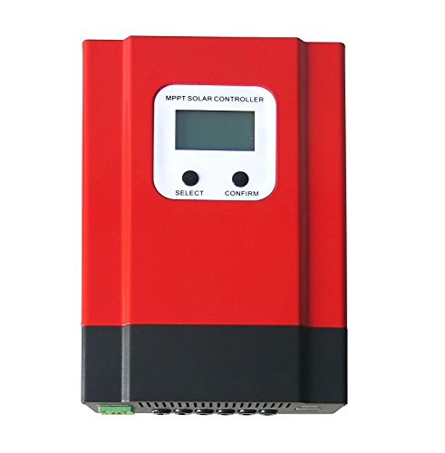 Y&H 40A MPPT Charge Controller 48V/36V/24V/12V Solar Battery Regulator Support off grid Solar System Max 130VDC Input by Y&H