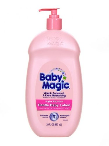 Baby Magic Gentle Baby Lotion, Original Baby Scent, 30 Oz (Pack of 2), Baby & Kids Zone