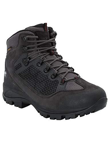 Jack Wolfskin Men's All Terrain PRO Texapore MID Men's Waterproof Hiking Trekking Boot Boot, Dark Steel, US Men's 9.5 D US