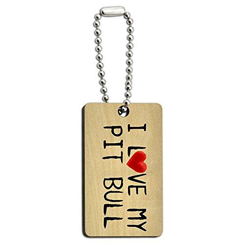 Written Paper Wooden Rectangle Chain