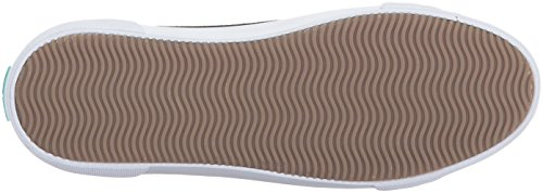 Jack Rogers Vrouwen Carter Fashion Sneaker Zwart Waterproof Suede