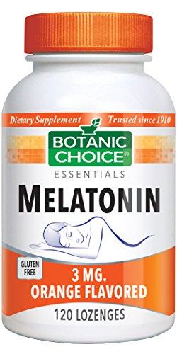 (Botanic Choice Melatonin Orange 3 Mg, 120 Lozenges)