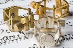 FRANCOIS LOUIS PURE BRASS - BRASS (XL SIZE) Saxophones Soprano saxophone ligature