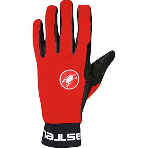 Castelli Scalda Glove - Men's Red/Black