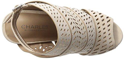 Charles by Charles David - Sandalias de vestir para mujer color carne