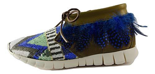 Donna 39 SOYA Fango Scarpe FISH Sneakers 171554 Venezia Piuma Snqx4wfBqF