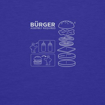 Planet Nerd - Bürger Assembly required - Damen T-Shirt, Größe XL, blau