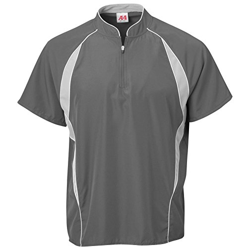 A4 Graphite Scr Boys' Batting Jacket NB4241 Nb4241 AqxAUYwrg