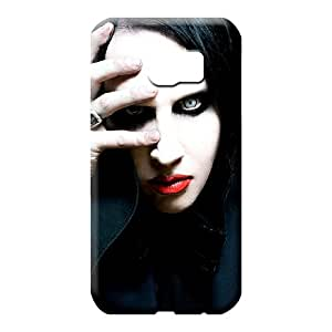 samsung galaxy s6 edge Collectibles Plastic High Quality phone case phone cover case marilyn manson